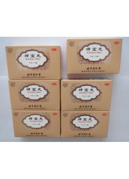 6 Boxes Kun Bao Wan for menopause,Buy 5 get 1