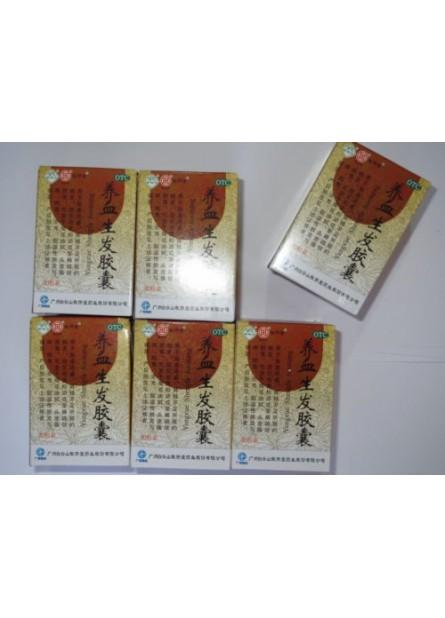 6 Boxes Hair growth YangXue ShengFa Capsules,Buy 5 get 1
