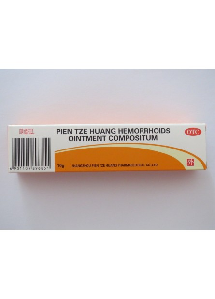 1 Box Pientzehuang Ointment hemorrhoids Pain Relief 10 grams